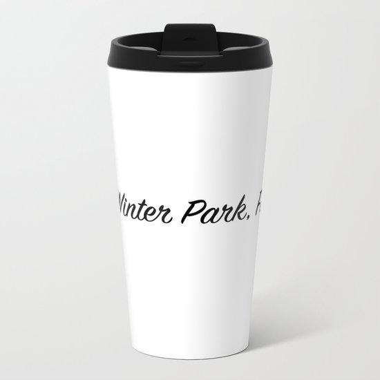 Winter Park, FL Metal Travel Mug
