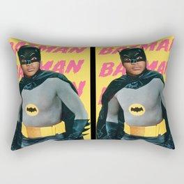 Jaden? Or Bruce Wayne? Rectangular Pillow
