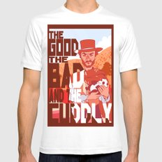 The Good, The Bad, and the Cuddly Mens Fitted Tee White MEDIUM
