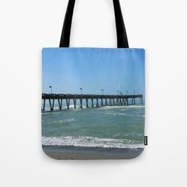 A November Day In Venice Tote Bag