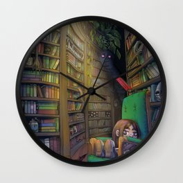 Nene's Library Wall Clock