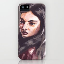 Gray Day iPhone Case