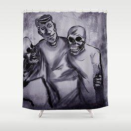 Best Buds! Shower Curtain