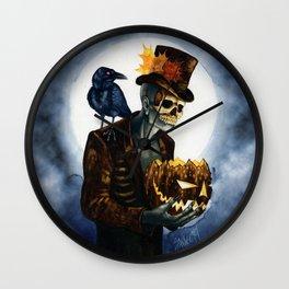 Shadow Man 4 Wall Clock