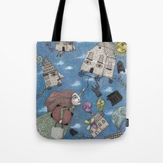 Moving Day Tote Bag