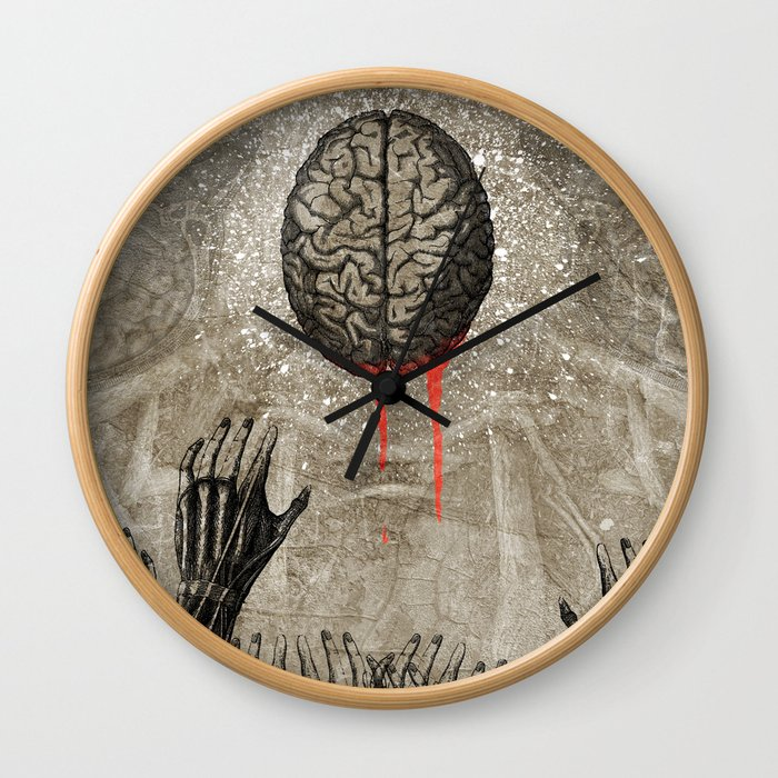 Brains Wall Clock
