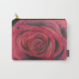 Red Unfolding Carry-All Pouch