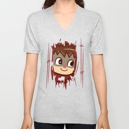 Heeeeere's..... the Villager! Unisex V-Neck