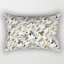 Funny fish 4 Rectangular Pillow