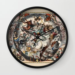 Constellations of the Southern Sky Wall Clock