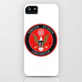 Firefighter Symbol iPhone Case