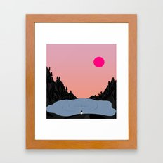Glory // Story Framed Art Print