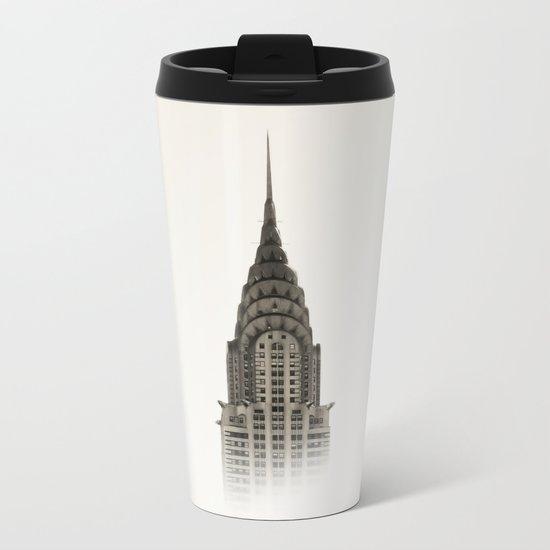 Chrysler Building - NYC Metal Travel Mug