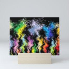 Smoky Colors Mini Art Print