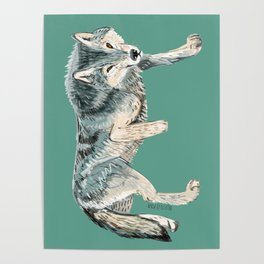 Totem Polar wolf Poster