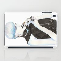 cigarette iPad Cases featuring Cigarette by Alessandra Castagnolo