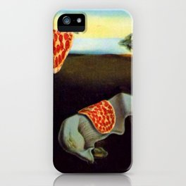 The Persistence of Hunger iPhone Case