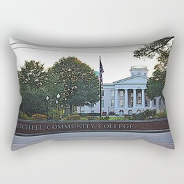Main College Building Rectangular Pillow