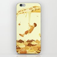 food iPhone & iPod Skins featuring Food by Alendro