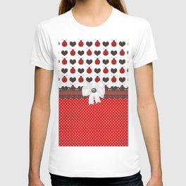 Ladybug and Hearts T-shirt