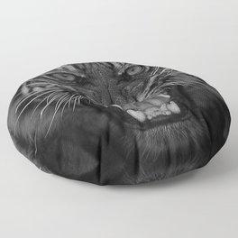 Heart of a Tiger Floor Pillow