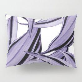 Dracaena Tropical Leaves Pattern Ultra Violet #1 #tropical #decor #art #society6 Pillow Sham