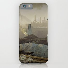 the truth is dead · just make money iPhone Case