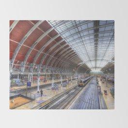 Paddington Station London Throw Blanket