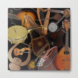 String Instruments 2 Metal Print