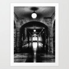 To the Light Art Print