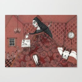 Schneewittchen-The House of the Seven Dwarfs Canvas Print