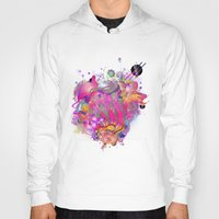 archan nair Hoodies featuring Purplescape by Archan Nair