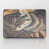 leo iPad Cases featuring Leo by Lark Nouveau Studio