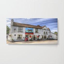 The Bull Pub Theydon Bois Panorama Metal Print