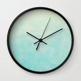 Spearmint Ombre Wall Clock