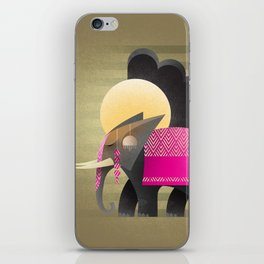 royal elephant iPhone Skin
