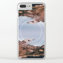 01132017 Clear iPhone Case