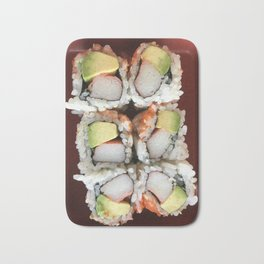 California Roll Bath Mat