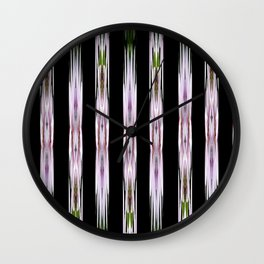 Pink Stars and Stripes Wall Clock