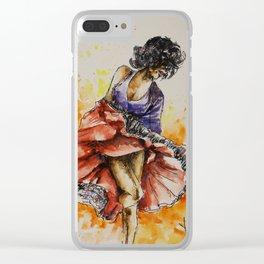Salsa dancer Clear iPhone Case
