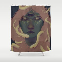 of witches and pets Shower Curtain