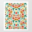 Floral Kaleidoscope  by kendradandy