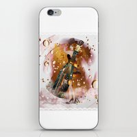 champagne iPhone & iPod Skins featuring champagne by Nathalie56