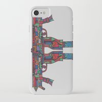 guns iPhone & iPod Cases featuring Guns by Sharif El Fatatry