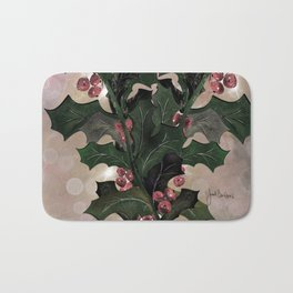 Holly For You Bath Mat