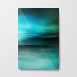 Flowing 2 Metal Print