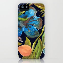 Tropic nuit iPhone Case