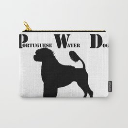 Portuguese Water Dog PWD Lion Cut Carry-All Pouch