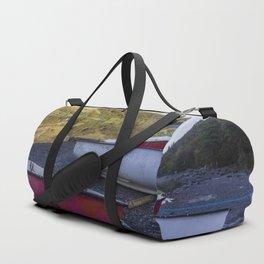 Llyn Crafnant Boats Duffle Bag
