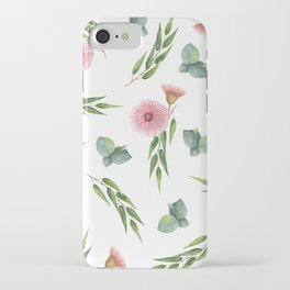 EUCALYPTUS LEAVES WATERCOLOR iPhone Case